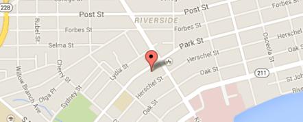 Park St Map